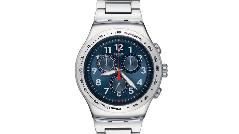 322c095e69c Da crise irrompeu a Swatch. Nasceu em finais dos anos 70 quando a indústria  suíça se encontrava ameaçada pela expansão da relojoaria japonesa.