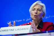Presidente do BCE: Christine Lagarde